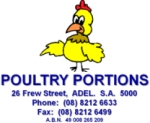 Wholesale Fresh Poultry Products. Whole Chickens, Breast Fillets, Leg Filets, Drumsticks, Kievs, Satays etc. A large variety of fresh poultry products available.